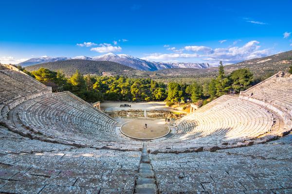 Epidauros, Grécko