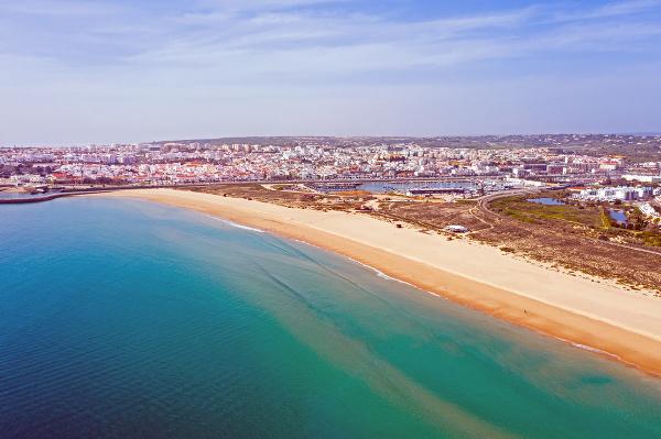 Meia Praia, Portugalsko