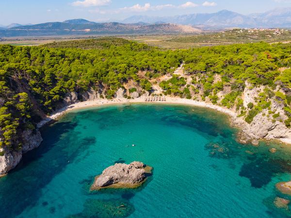 Pláž Alonaki, Preveza, Grécko