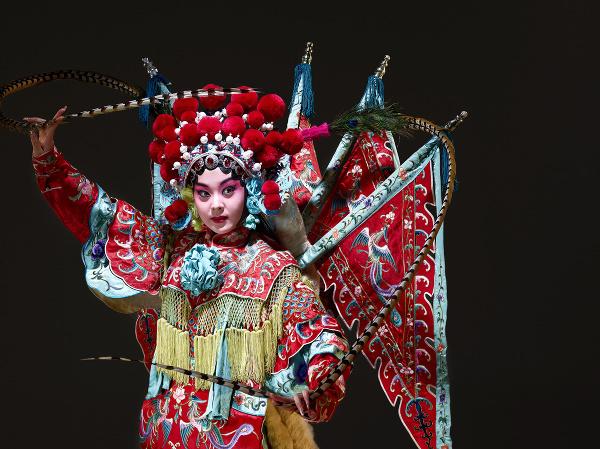 Umelkyňa v Pekinskej opere