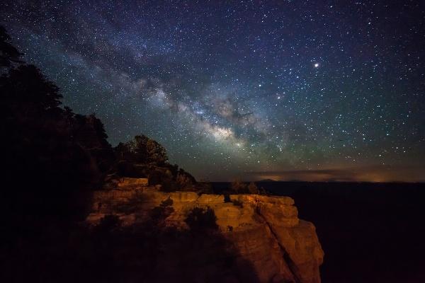 Mliečna cesta nad Grand