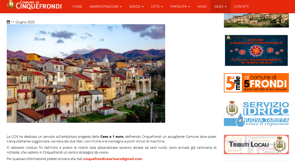 Talianske mestečko láka nových