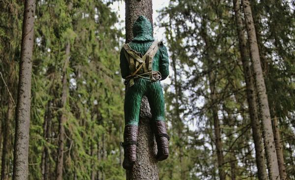 Lesnícky skanzen v