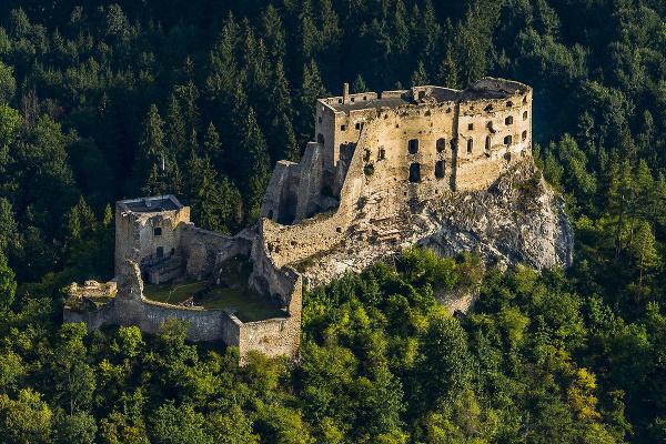 Likavský hrad v okrese