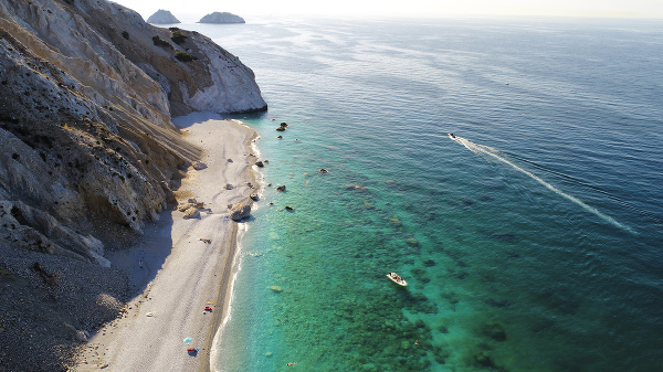 Pláž Lalaria na ostrove