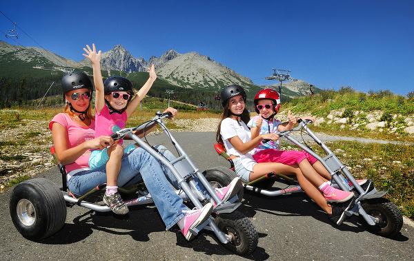 Motokáry vo Vysokých Tatrách