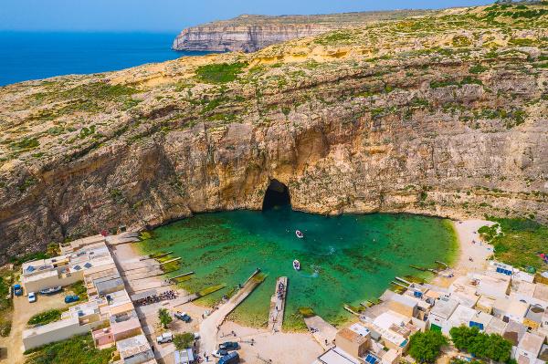 Modrá lagúna, Malta