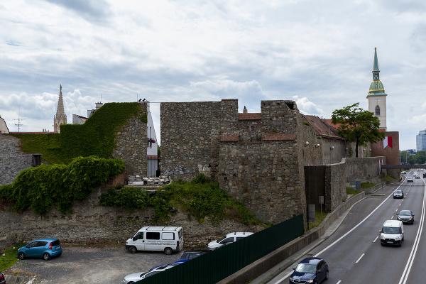 Severozápadná veža mestského opevnenia