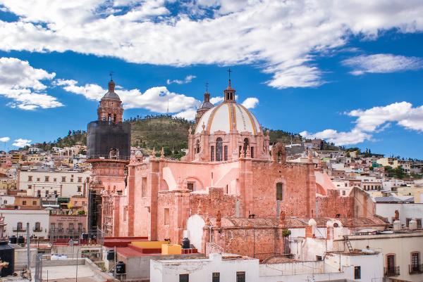 Katedrála Zacatecas, Mexiko