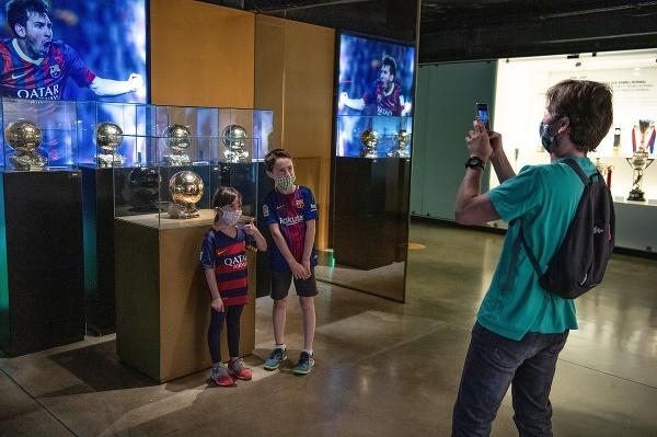Múzeum FC Barcelona, Barcelona,