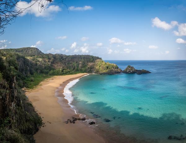 Pláž Baia do Sancho,