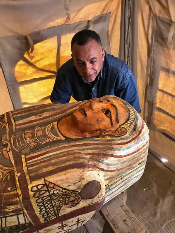 Na starovekom pohrebisku Sakkára