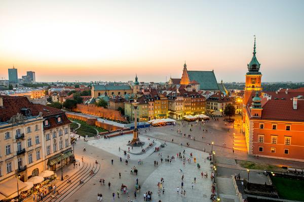 Varšava, Poľsko