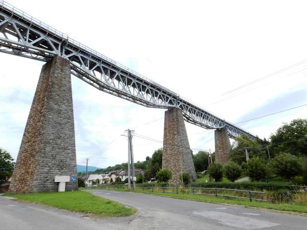 Hanušovský viadukt, ktorý je