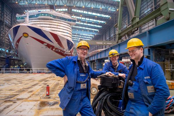 Meyer Werft Dockhalle, Papenburg,