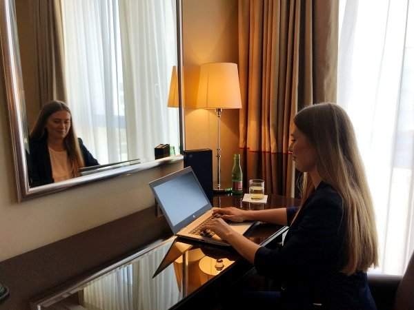 """Hotel office"" je čoraz"