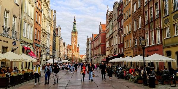 Dlhá ulica, Gdansk
