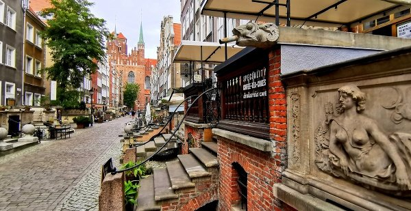 Mariacka ulica, Gdansk