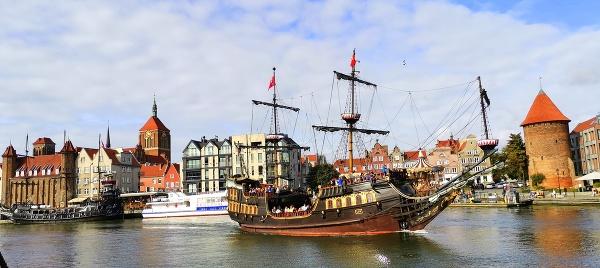 Pirátska loď Čierna perla,