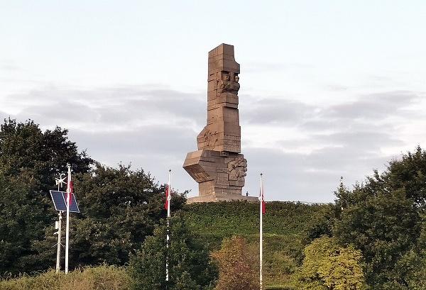 Westerplatte, kde 1.9.1939 vypukla