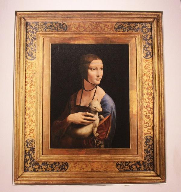 Dáma s hranostajom, Leonardo