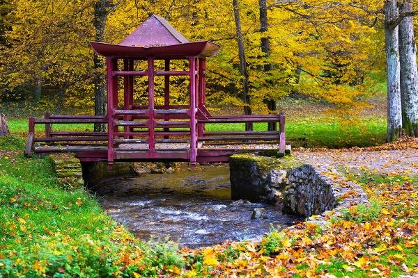 Japonský most, jeden z
