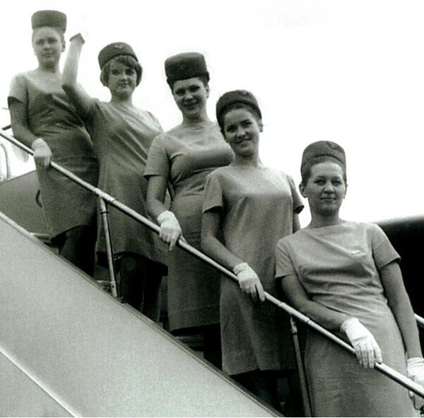 Letušky aeroliniek Aeroflot v