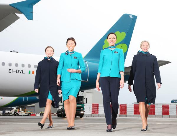 Letušky Aer Lingus v