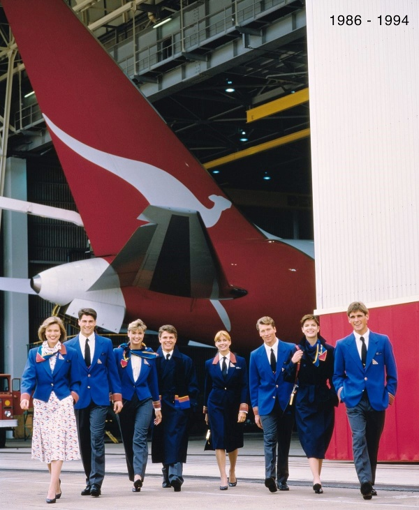 Palubný personál aeroliniek Qantas