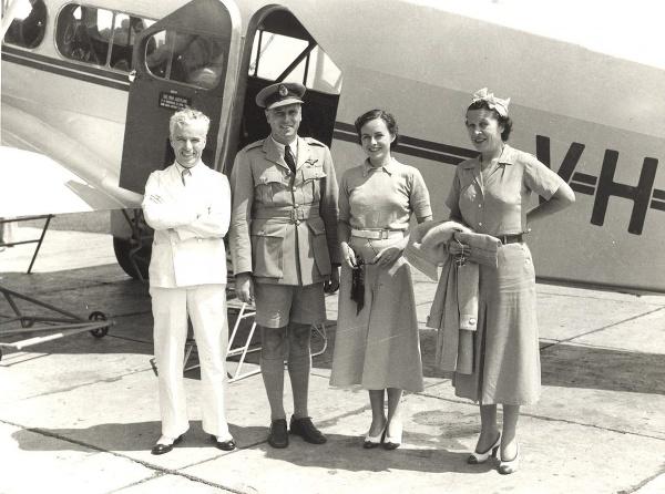 Letušky aeroliniek Qantas s