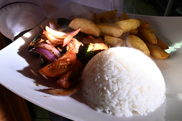 Peruánske jedlo