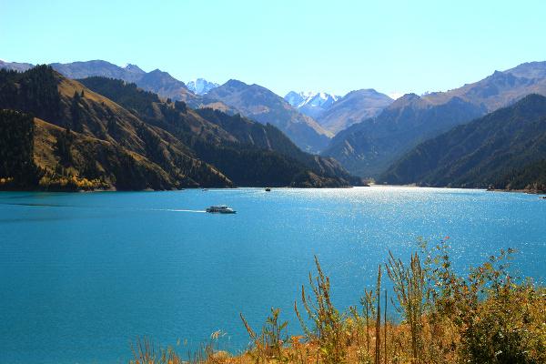Nebeské jazero Tianchi