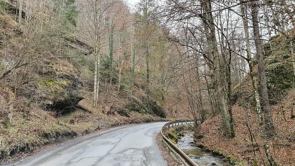 Cesta I/72 v lokalite
