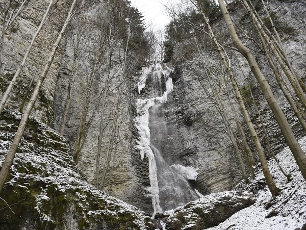 Brankovský vodopád je najvyšším