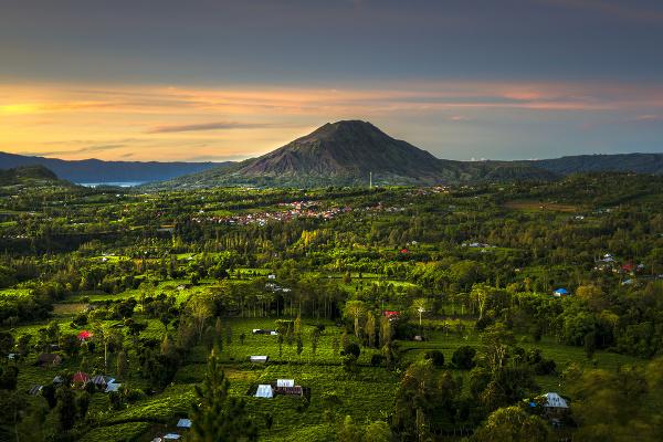 Vrch Batur