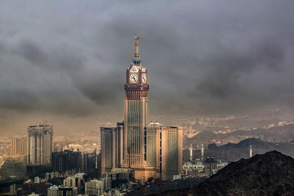 Abrádž al-Bajt, Saudská Arábia