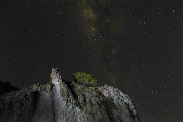 Pozorovanie hviezd na Komode