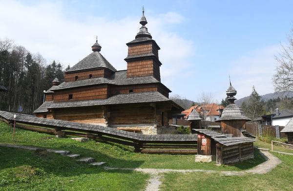 Gréckokatolícky drevený Chrám sv.