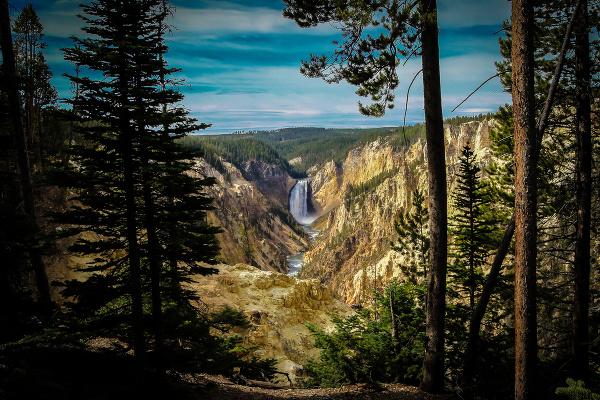 Veľký Yellowstonský kaňon