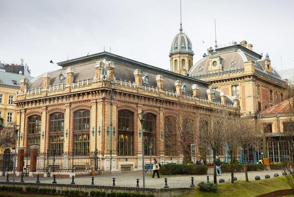 Stanica Nyugati v Budapešti