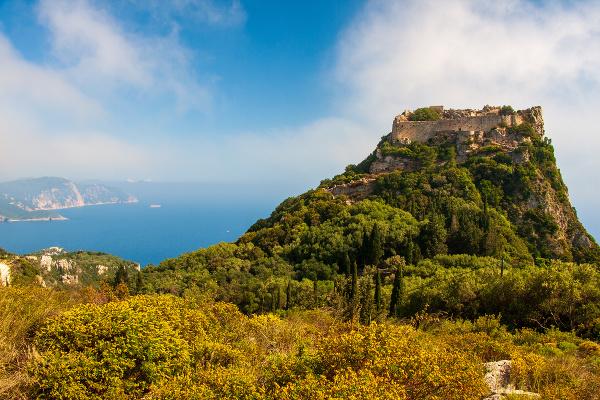 Крепость Ангелокастро, Корфу