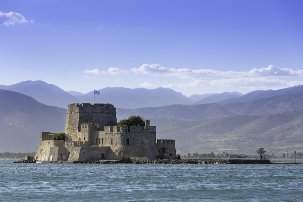 Pevnosť Bourtzi, Nafplio
