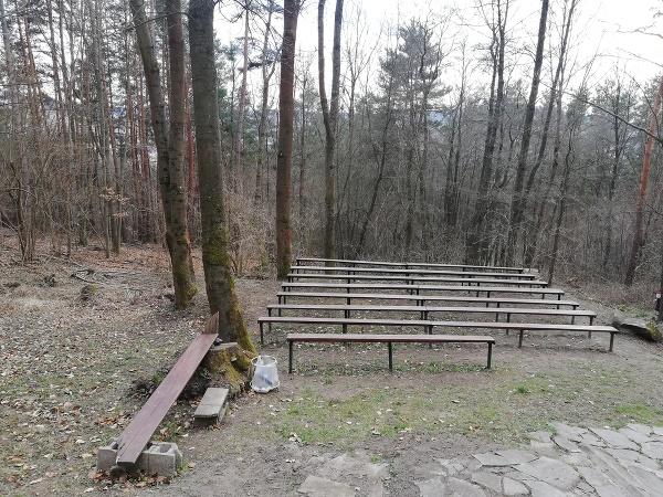 Kaplnka v tichom prostredí