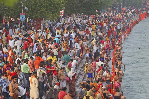 Праздник Кумбха Мела v