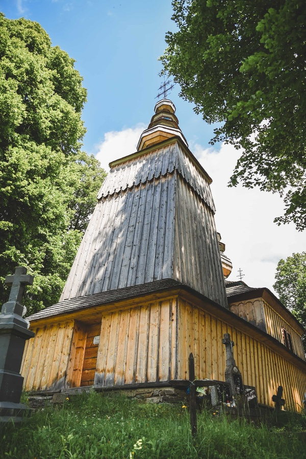 Drevený chrám Ochrany Presvätej