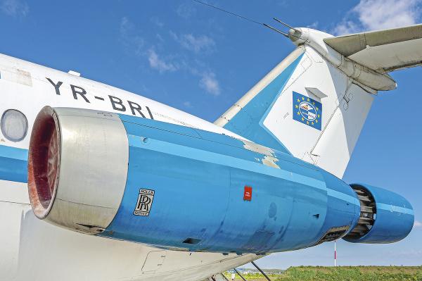 Ceaušescovo lietadlo vydražili za