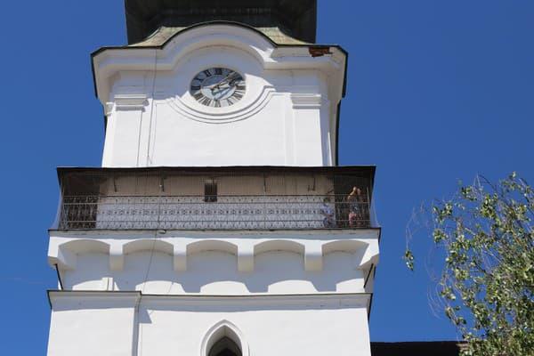 Zvolenská veža je od