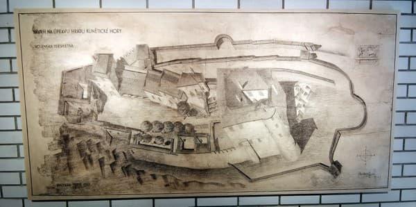 Jurkovičove plány prestavby hradu