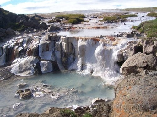 Island, oheň vo vode