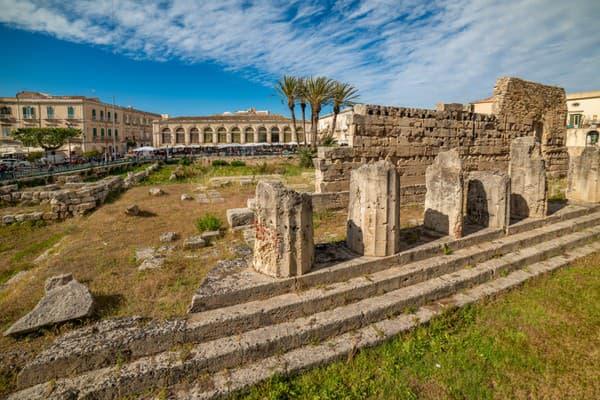 Apolónov chrám, Syrakúzy
